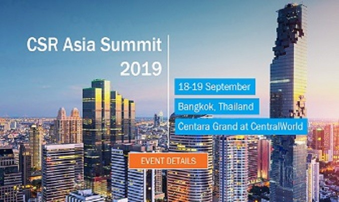 Press Release: Asia's largest sustainability & social responsibility conference,  CSR Asia Summit 2019 held in Bangkok