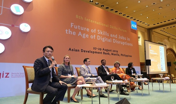 ADB Forum Discusses Skilling for the Future